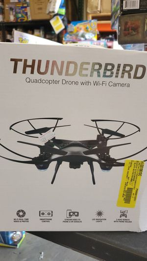 Thunderbird quadcopter drone with Wi-Fi camera for Sale in Riverside, CA