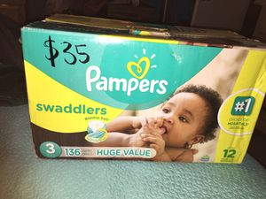 Pampers for Sale in Houston, TX