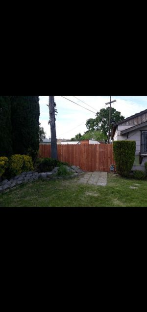 Fence boards need a fence built for Sale in Stockton, CA