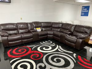 WE ARE OPEN! COMFY NEW MADRID RECLINING SECTIONAL SOFA ON SALE ONLY $999. SAME DAY DELIVERY. NO CREDIT NEEDED FINANCING for Sale in Tampa, FL