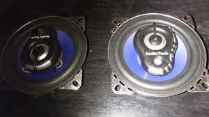 "Audio tech 4"" 3way speakers for Sale in Fairfield, CA"