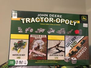 John Deere Tractor - Opoly for Sale in West Point, MS