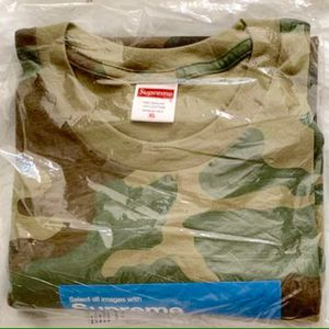 SUPREME Photo Verify Captcha Tee T Shirt Woodland Camo Camouflage Size Men's XL X-Large Extra Large ⭐️ NEW SEALED RECEIPT for Sale in Mount Laurel Township, NJ