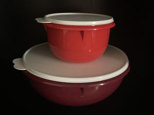 Tupperware 2pcs bowl containers for Sale in San Jose, CA