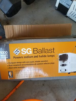 1000 watt ballast for Sale in West Palm Beach, FL