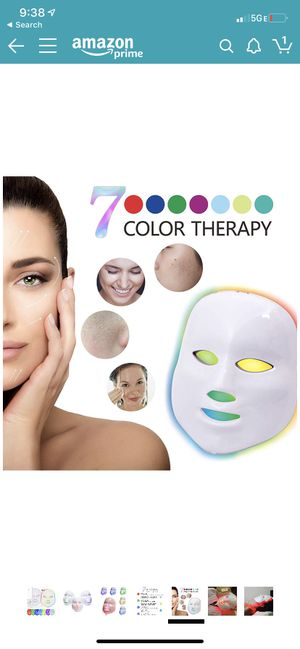 LED light therapy face mask for Sale in Del Mar, CA