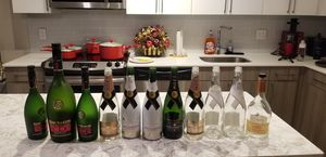EMPTY REMY MARTIN V.S.O.P/1738 BOTTLES AND MOET & CHANDON BOTTLES!! $10 PER BOTTLE for Sale in Forest Heights, MD