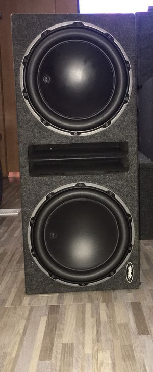 2/12w6v2-D4 JL Audio Subwoofer W/ Ported Box!!! for Sale in El Cajon, CA