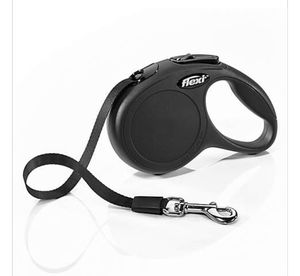 Flexi Classic Retractable Leash in Black, Extra Small 10' for Sale in Greenville, MS