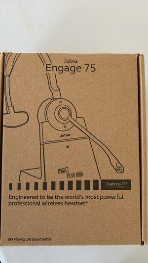 Jabra engage 75 wireless headset brand new for Sale in Cumming, GA