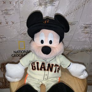 2013 San Francisco Giants Mickey Mouse Plush Toy for Sale in Stockton, CA