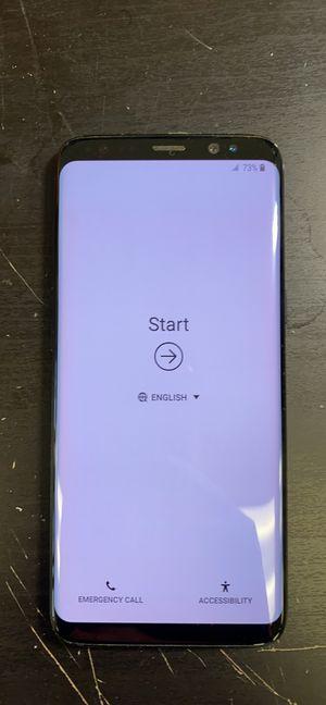 Samsung galaxy S8 64gb Unlocked. Store receipt and warranty for Sale in Boston, MA