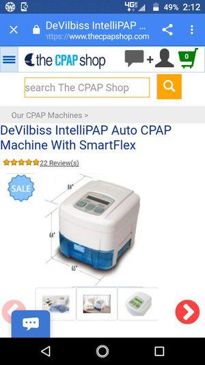 DeVilbis IntelliPap auto CPAP machine for Sale in Tucson, AZ