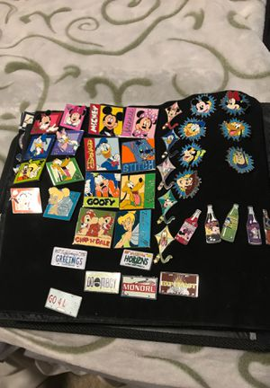 Disney pins year collections (PRICE VARYS PER PIN) for Sale in Rancho Cucamonga, CA