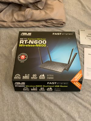 Asus router (rt-n600) for Sale in Tempe, AZ