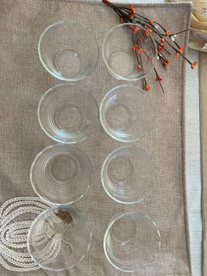 Pyrex 5 oz set of 8 glass bowls for Sale in Paramount, CA