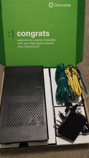 CenturyLink Wireless Modem for Sale in Corona, CA