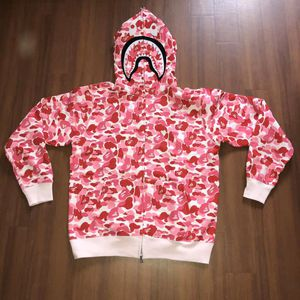 bape pink abc camo shark hoodie size L XL 2XL for Sale in San Francisco, CA