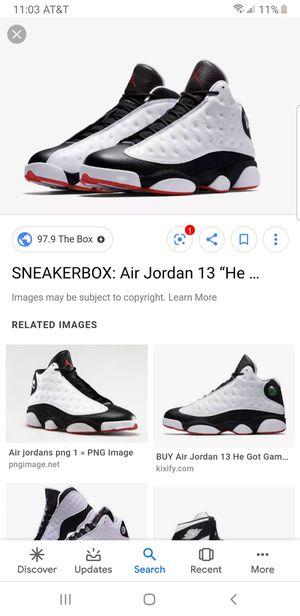 Jordan 13 size 9 1/2 brand new never opened for Sale in Philadelphia, PA