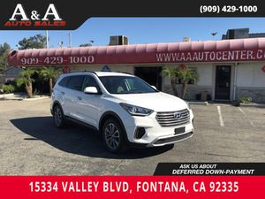 2017 Hyundai Santa Fe for Sale in Fontana, CA
