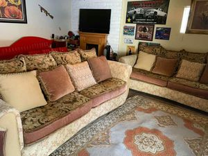 Set of 2 big size sofas excellent condition for Sale in Bakersfield, CA