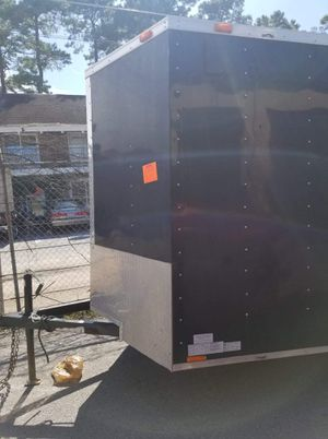 14×5 enclosed cargo trailer for Sale in Houston, TX