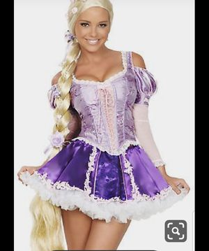 3 Wishes Rapunzel Halloween Costume XS for Sale in HUNTINGTN BCH, CA