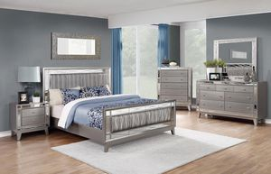 4 piece queen bedroom set in the Leighton Collection. for Sale in Antioch, CA