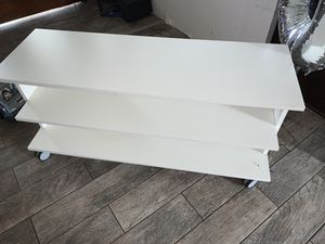 White tv stand for Sale in Westminster, CA