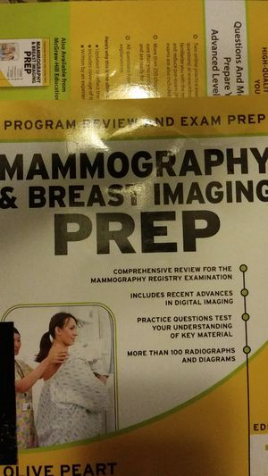 Mammography & Breast Imaging Prep program review & exam prep, edition 1 for Sale in HILLTOP MALL, CA