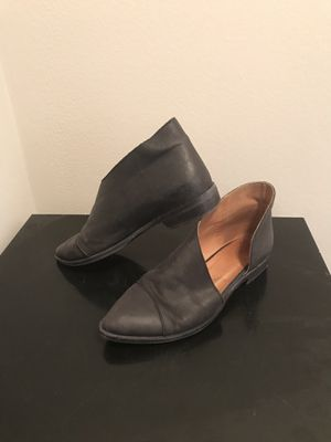 Free People Black Leather Shoes for Sale in Bloomington, IL