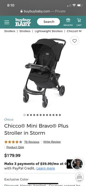 Chicco Bravo mini stroller for Sale in Goodyear, AZ