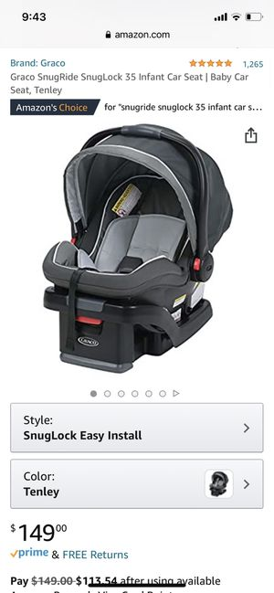 Graco click connect Infant Carrier for Sale in Cleveland, OH