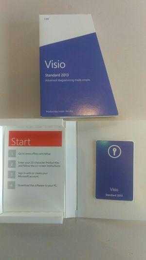 Microsoft Visio Standard 2013 for Sale in Clovis, CA