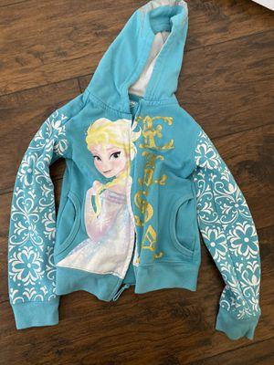 Disney girl sweatshirt - Elsa Frozen hoodie size 4 for Sale in Long Beach, CA