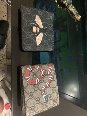 Men's designer wallets for Sale in Hialeah, FL