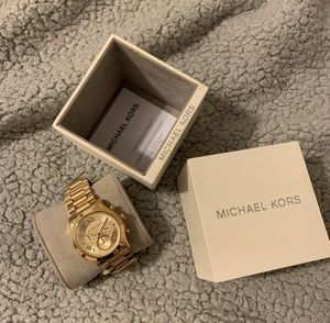 Michael Kors women's gold watch for Sale in Affton, MO
