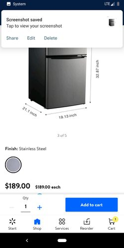 Mini fridge plus mini freezer for Sale in Bristol,  RI
