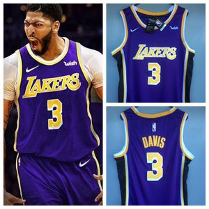 Lakers Anthony Davis Purple Jersey for Sale in Los Angeles, CA