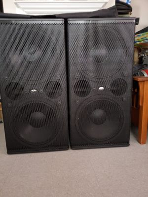 "D.A.S. Subwoofers 218"" doble bajo 1400 watts RMS cada cajon for Sale in Austin, TX"