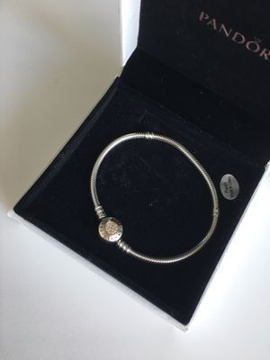 Pandora bracelet with charm for Sale in Tampa, FL