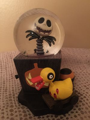 Rare Disney Nightmare Before Christmas Jack Mini Snow Globe for Sale in Pittsburgh, PA