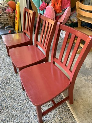 LAND OF NOD PARKER CHAIRS (3) for Sale in Bellevue, WA