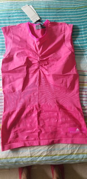 Brand new Stella McCartney Women's Barricade Pink Tennis Top - Size Small for Sale in Portland, OR