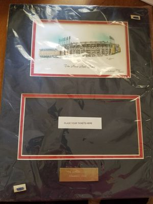 Ticket holder with pic of Stadium for Sale in Parma, OH