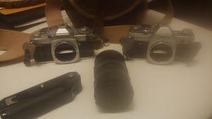 Canon ae-1 and av-1 for Sale in Vancouver, WA