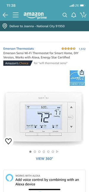 Sensi WiFi thermostat for Sale in National City, CA