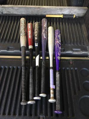 Youth baseball or softball bats for Sale in Nashville, TN