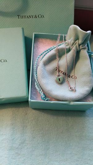 Tiffany & Co Mini Heart Lock Pendant for Sale in McKeesport, PA