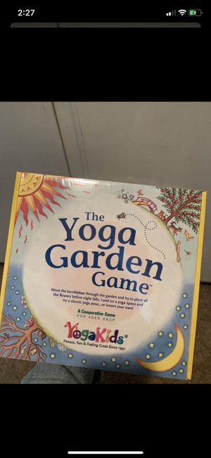 Yoga Garden Kids Board Game for Sale in Fullerton, CA